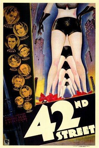 Filmplakat 42nd Street